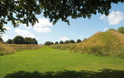 Maumbury Rings was successively a henge monument, a Roman amphitheatre and today a popular venue for open-air performances