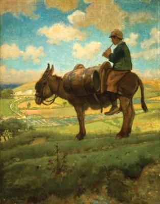 Donkey-Boy on Blackhill, Cerne Abbas, Joseph Benwell Clark, 1885