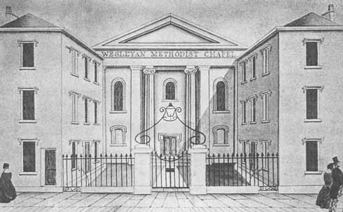 The Arts Centre as it was in 1838
