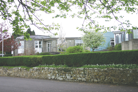 The 1970s extensions are along Park Walk, with spectacular views over the Blackmore Vale