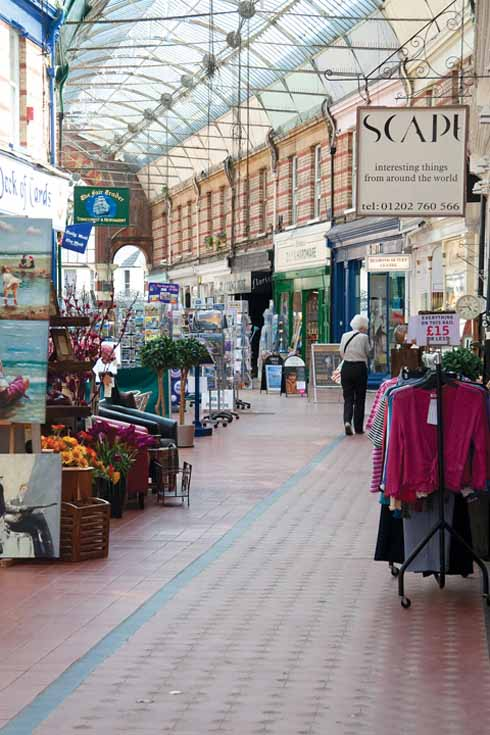 'One of the most interesting and attractive shopping thoroughfares anywhere in Dorset'