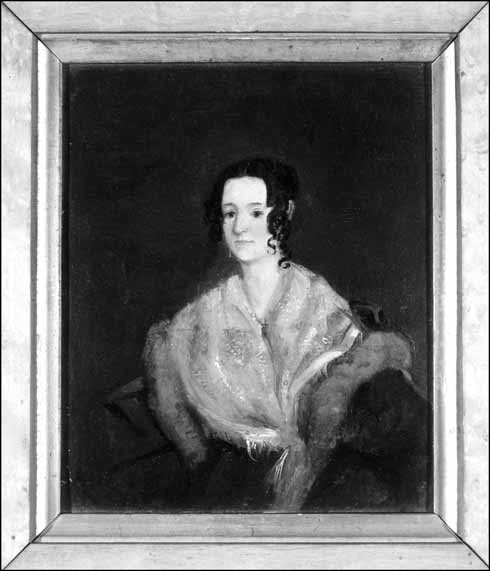 The object of William's affection. Julia Barnes shown here later in life – after Barnes had successfully obtained her hand in marriage.