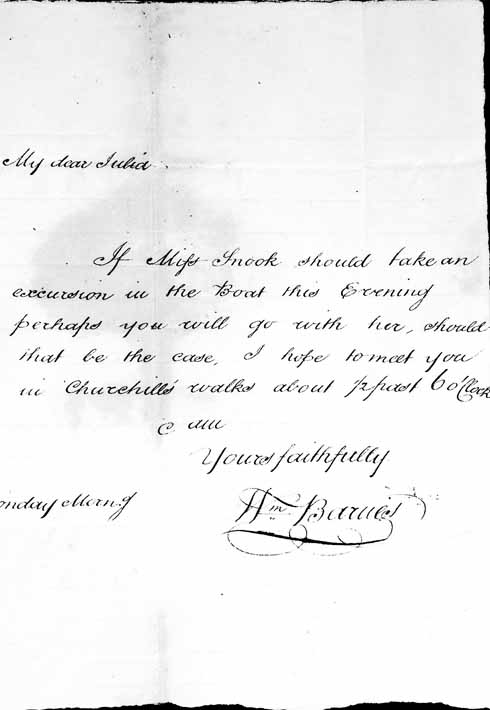 The somewhat formal taking of leave at the end of this letter harks to an earlier time when 'faithfully' meant just that