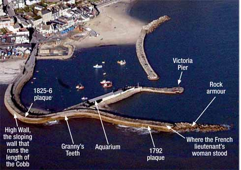 An aerial view is the best way to appreciate the shape and features of the Cobb
