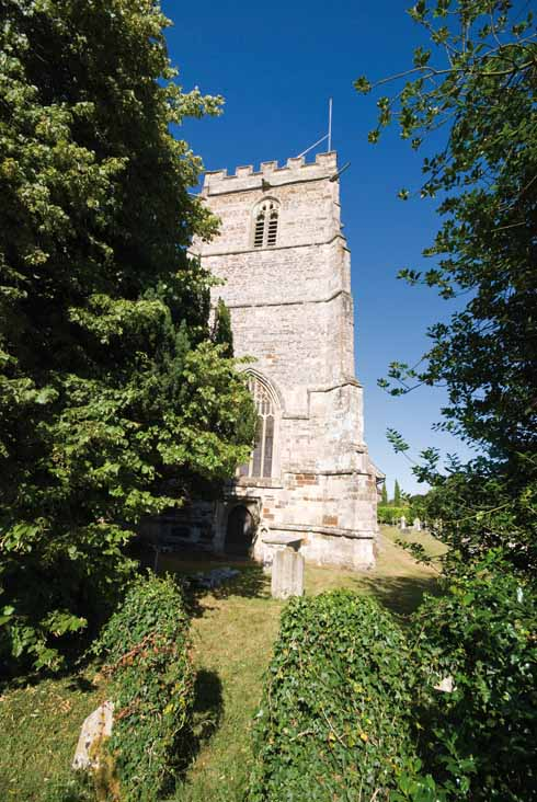 Cranborne parish church