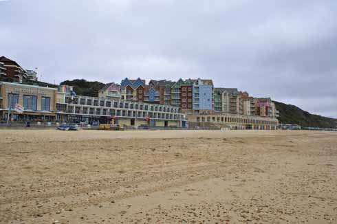 Boscombe's regeneration began on the seafront, with the striking Overstrand development