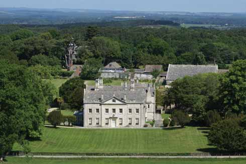 Creech Grange from Great Wood