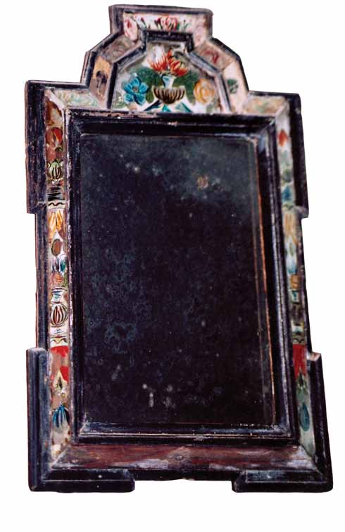A mirror from the Halsewell in Worth Matravers church