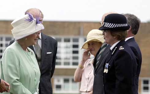 HM The Queen paid an official visit to Dorset during Jane Stichbury's time as Chief Constable