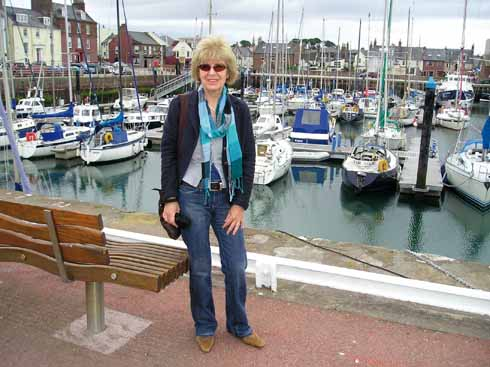 Any spare time Jane likes to spend by the water or walking her dogs near her East Dorset home