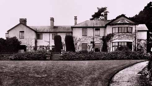 Durweston Rectory, where SGO lived for 34 years