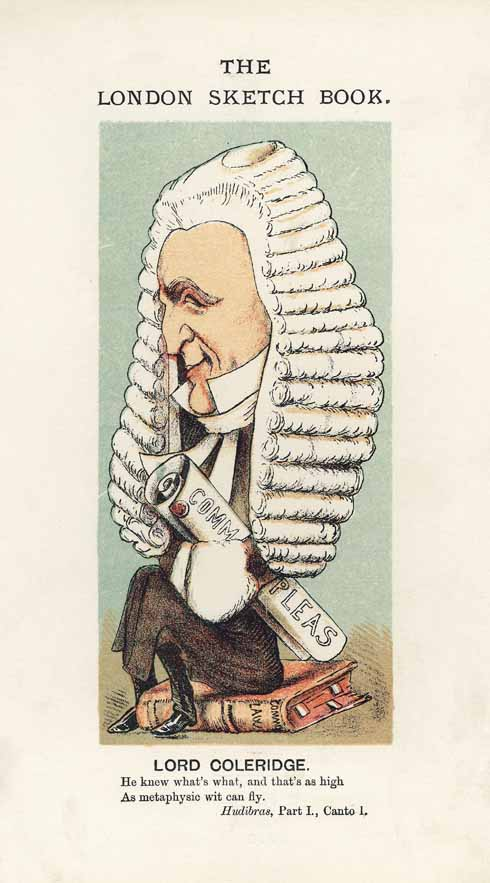 Lord Chief Justice, Sir John Duke Coleridge said that he had never read 'a more malignant libel' than Vernon's defamation of Whitehead