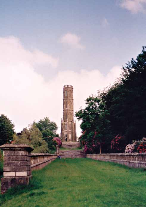 The High Wood tower was rebuilt and raised by Drax after being hit and damaged by a lightning strike