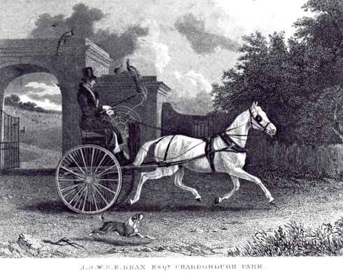 In this engraving, John Samuel appears the very image of a country gentleman