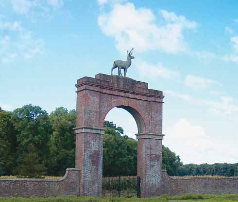 One of the legacies of John Samuel is the impressive Stag Gate