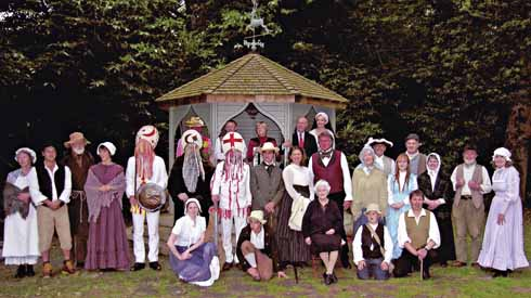 The New Hardy Players, at the West Stafford home of Julian and Emma Fellowes