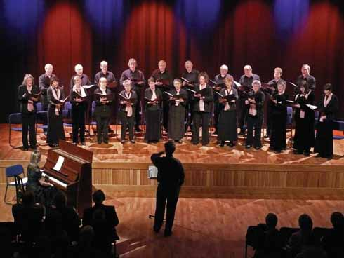 … or musical events like choral evenings, where the acoustics of the hall can be appreciated