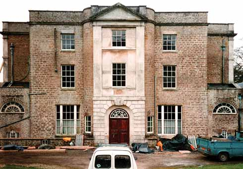 After a long period of vacancy, Downe Hall was turned into five flats in 1996