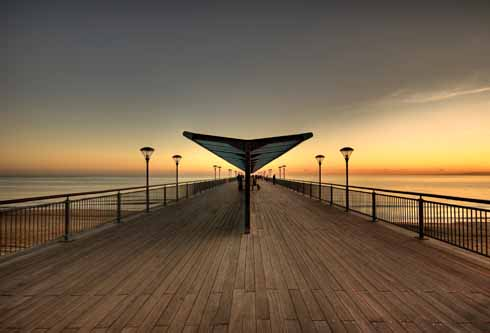 Boscombe Pier: described as 'one of the coolest piers in the country'