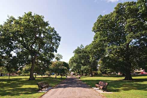 ...Poole park