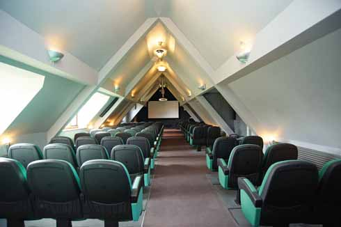 The 70 seat cinema