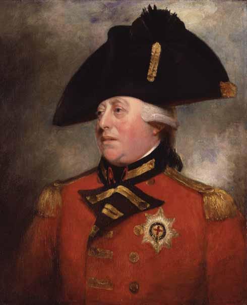 Studio of Sir William Beechey (1753–1839)  George III (1738-1820)   oil on canvas, 1799-1800