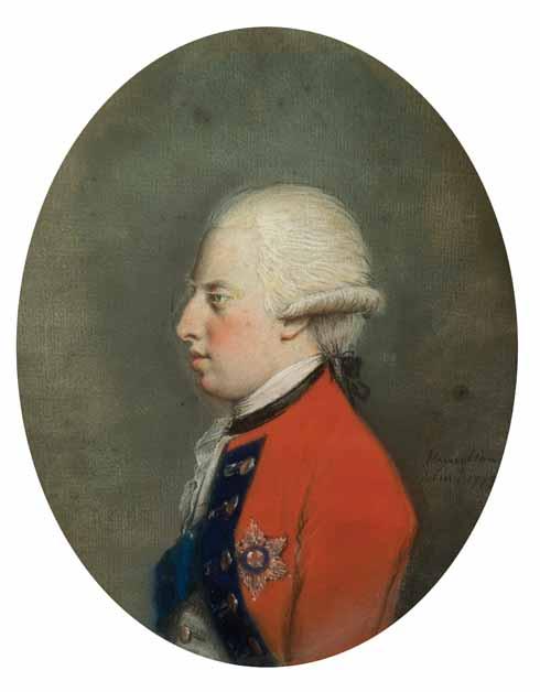 Hugh Douglas Hamilton (1736-1808) Prince William Henry, 1st Duke of Gloucester (1743-1805) pastel on paper, 1773