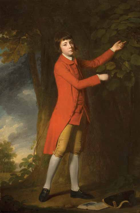 George Romney (1734-1802)   Thomas Rackett the Younger (1756-1840)  oil on canvas, c. 1768