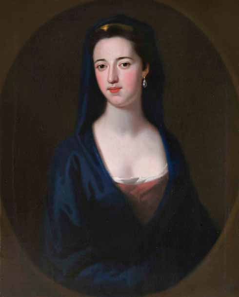 Attributed to Enoch Seeman (1690-1744)  Charlotte Digby, neé Fox (1707-1778)  oil on canvas, c.1729