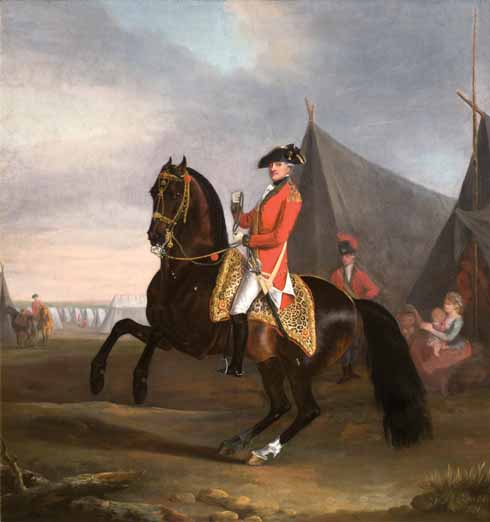 Thomas Gooch (1750-1802) George Pitt, First Lord Rivers (1721-1803) as Colonel of the Dorset Militia 1782