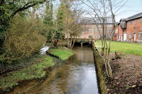 There have been water mills in Maiden Newton as far back as Domesday Book. Originally corn mills, they have been put to various uses from industrial units to rope and even ecclesiastical carpet making.