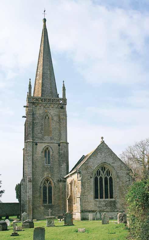St Andrew's Church in Trent