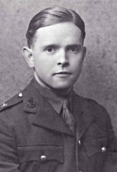 Major John Charnley, father of the hip replacement, looking incredibly youthful in his RAMC uniform in 1940