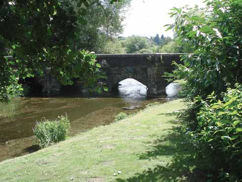 Walford Bridge and the River Allen, Wimborne