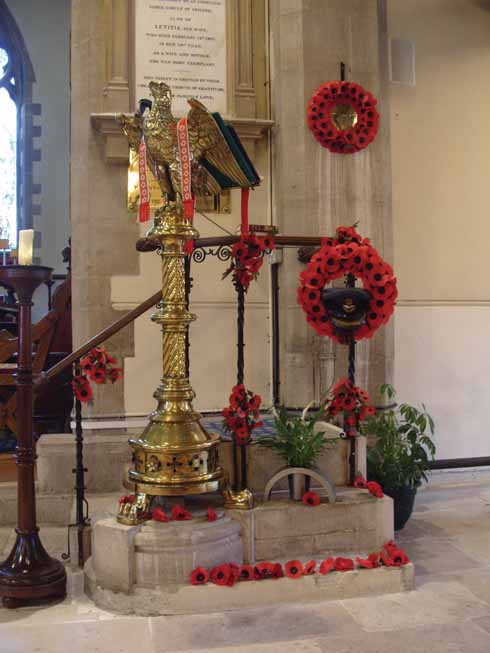 St Mary's church on Remembrance Day