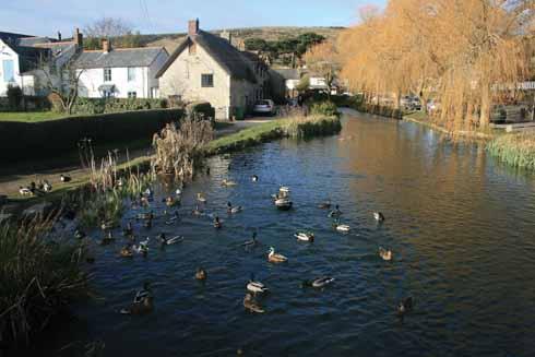 Back in Sutton Poyntz village
