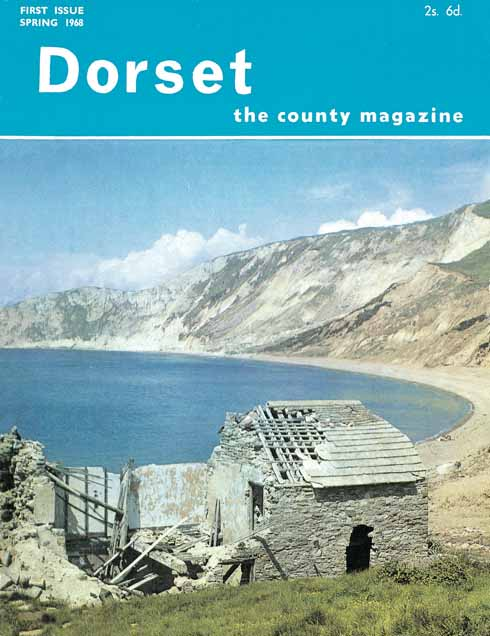 The cover of Issue 1 of Dorset, the county magazine – which later became Dorset Life, with Rodney's introduction, and his first campaign in the magazine: for the MOD to return Tyneham to the evicted villagers
