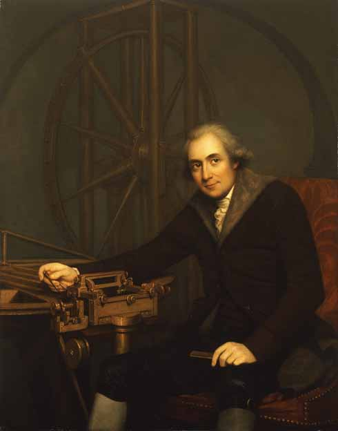 According to George III, instrument maker Jesse Ramsden was the least punctual of any man in England 