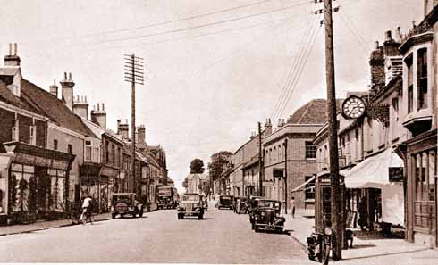 North Street in the year that Ray was transferred to Wareham