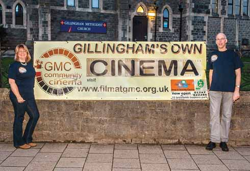 Organisers promote the cinema through as many different media as possible; there is a website (www.filmatgmc.org.uk) (image: Terry Fisher Photography)her