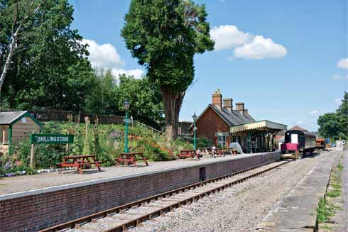 Shillingstone Railway Project has restored the village's former railway station