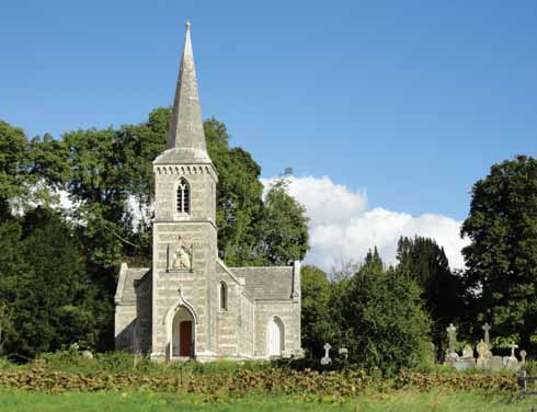 The beautiful church of St Nicholas in Winterborne Clenston is a joyful surprise to those who come across it as they head north from Winterborne Whitechurch to WInterborne Stickland