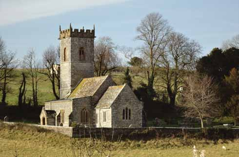 Cheselbourne church has 13th-century elements, but is thought to be on the site of a church which was built 300 years previously