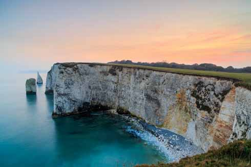 Shot from the same place as the Old Harry shot, this summer sunset shot is one of the few in Purbeck – indeed Dorset – where you can get a westward-looking sunset shot with sea in it