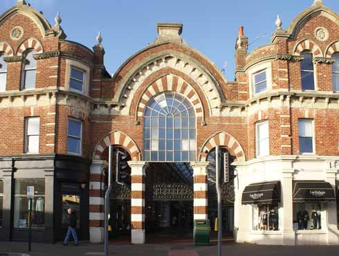 The iconic arcade is the living centre of Westbourne