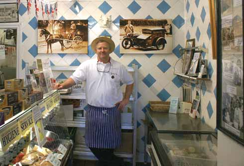 Richard Balson: the latest in a continuous line of family butchers dating back to 1515