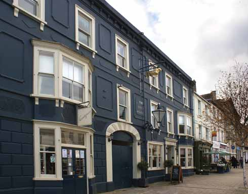At the heart of Bridport since the 16th century, the Bull was a stop on the Trafalgar Way
