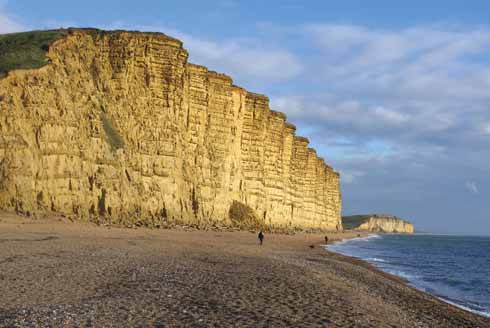 West Bay's iconic cliffs have been made famous recently by TV drama, but the area's long-established businesses have other priorities than following fads and trends