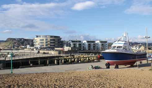 Bits of West Bay have changed almost beyond recognition in the last twenty years, but the generally seasonal nature of the visitor numbers is still a big factor