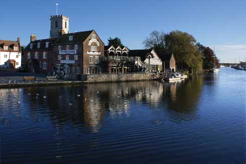 The Quay at Wareham in a rather less wintry moment